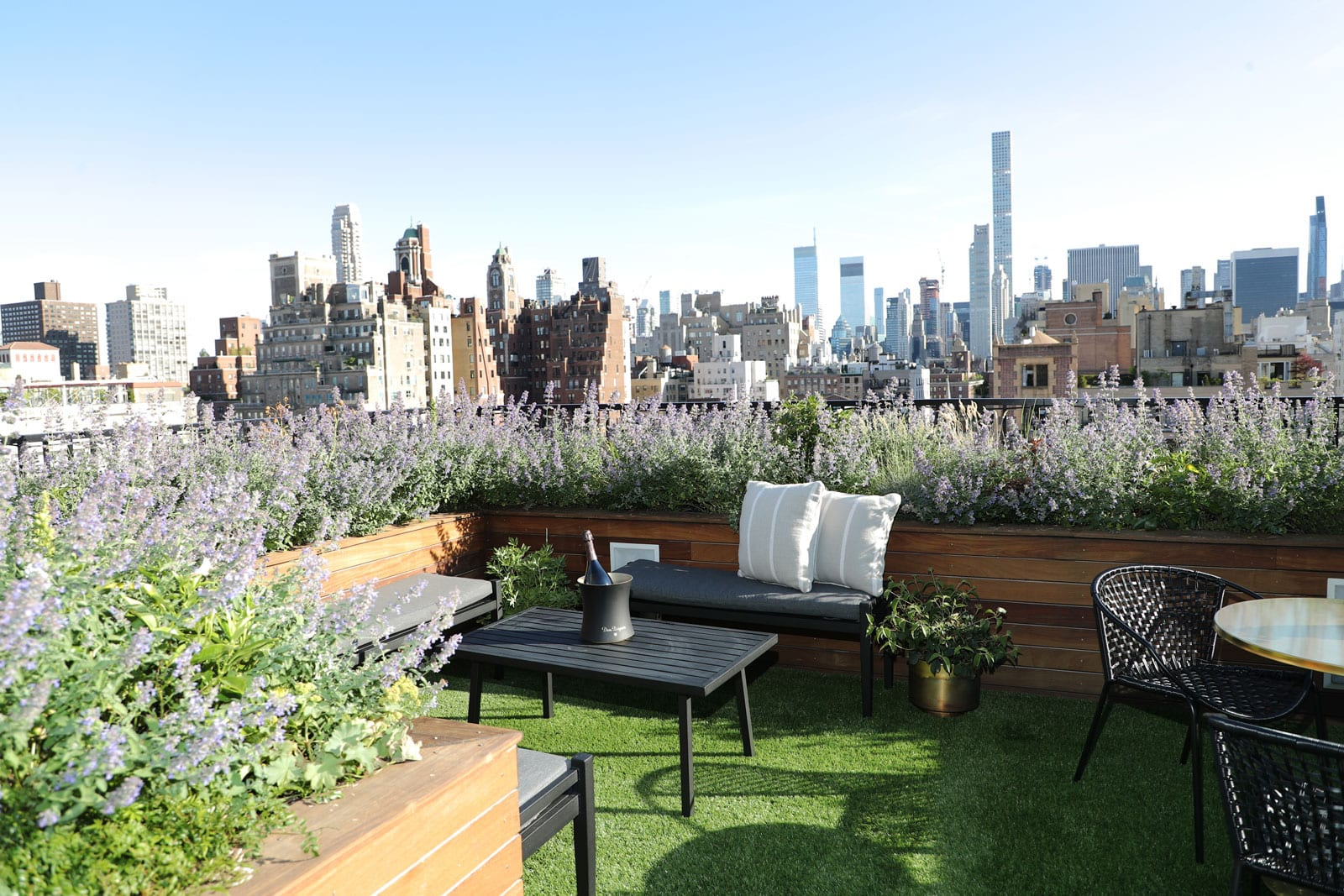 Rooftop Bar Upper East Side | Private Rooftop Garden | The ...
